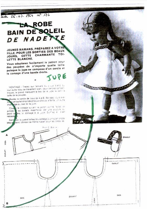 patrons pour Nadette