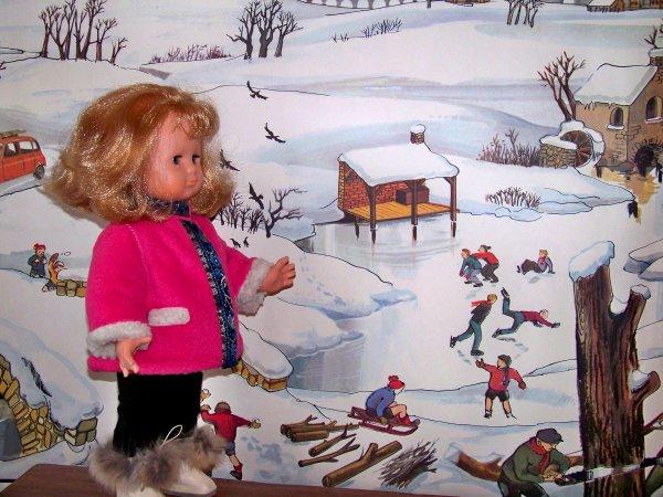 Emilie rêve de ski....