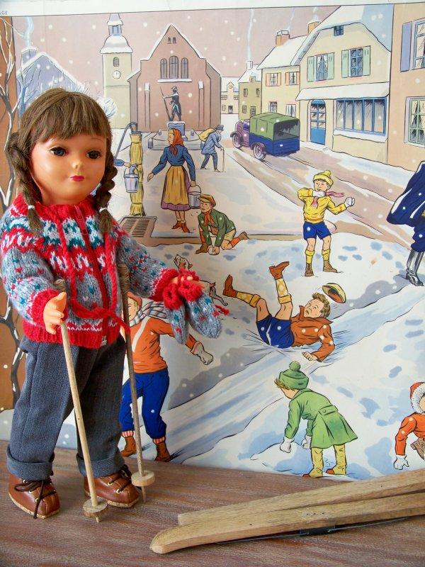 Francette  rêve de neige.......elle aussi