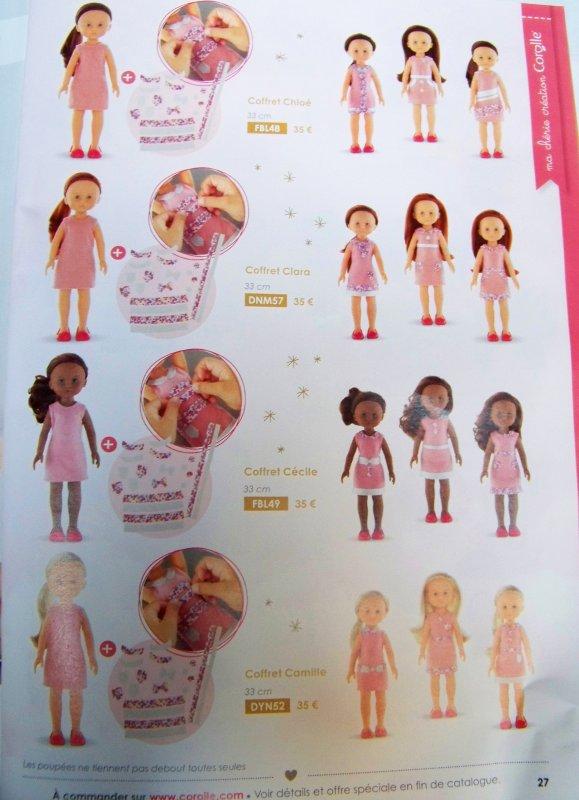 Catalogue Corolle de noël
