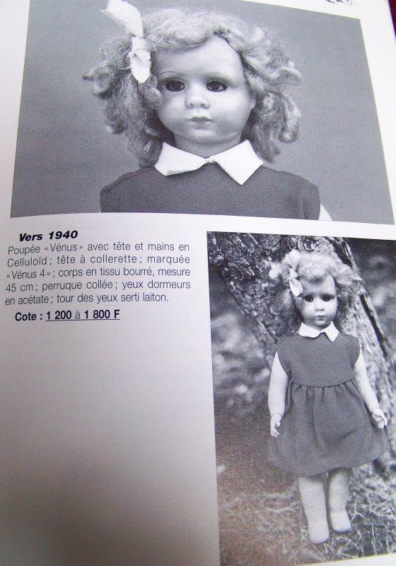 poupée VENUS (SUITE)
