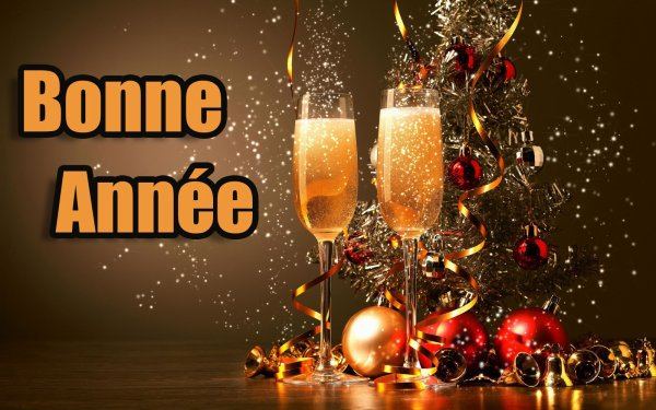Bonne et heureuse année 2018