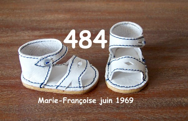 Les chaussures de juin 1969