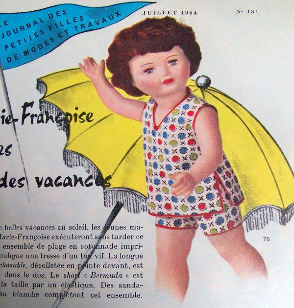 Modes & Travaux  Juillet 1964