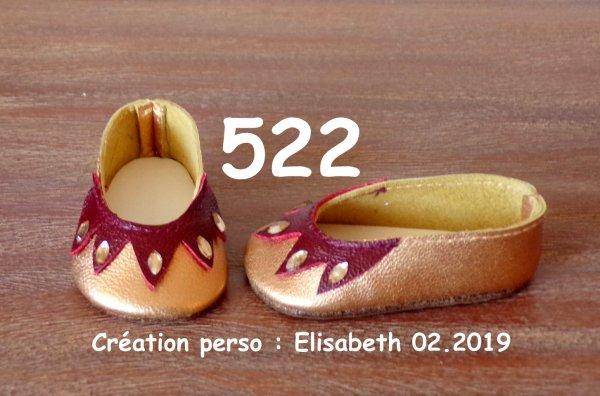 Elisabeth et ses  nouvelles chaussures