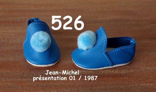 Les pantoufles de janvier 1987 : Emilie et Jean-Michel
