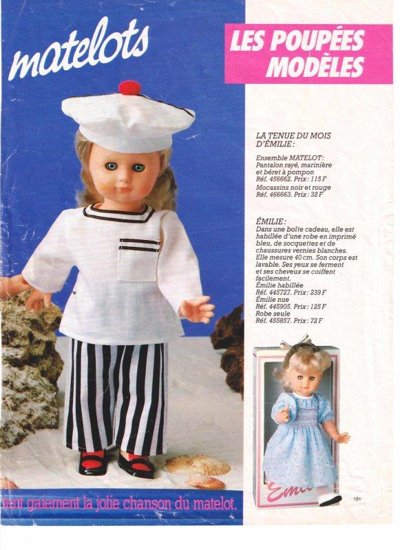 Qui peut dater cette tenue de matelot ?
