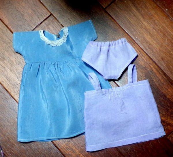 La robe nettoyée