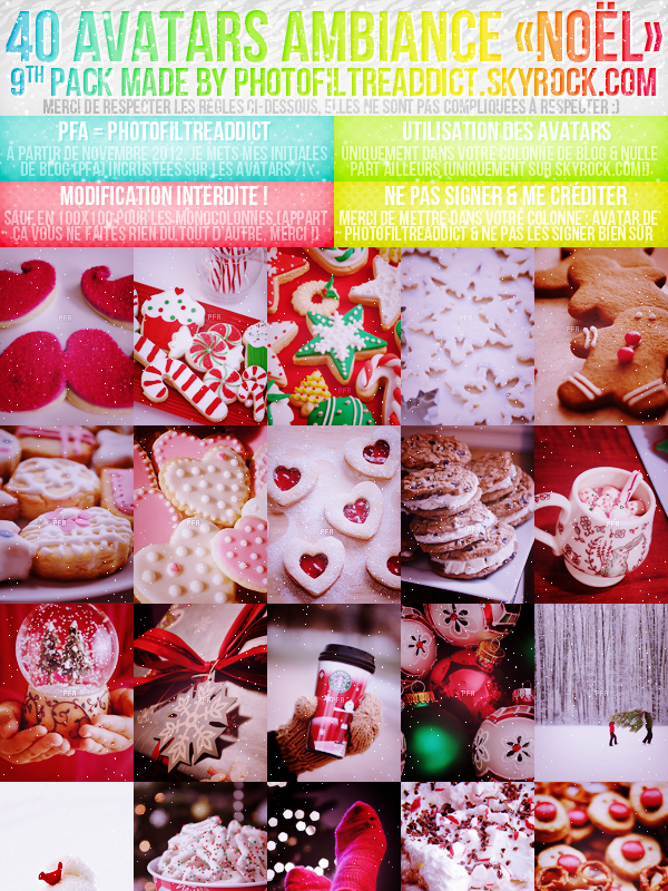 Pack 09 : Christmas time ! :)
