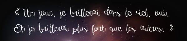 Vers les étoiles... de Melrive