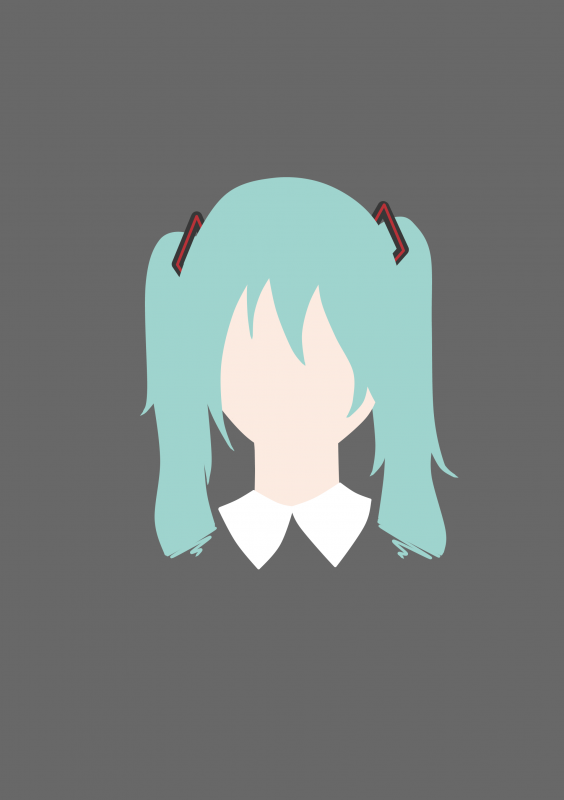 Hatsune Miku draw test