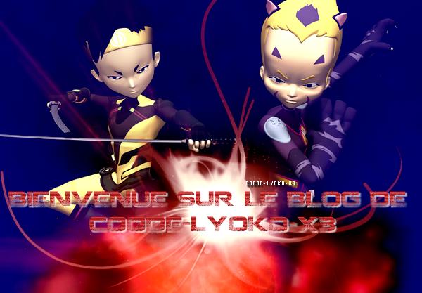 Commande de montage pour CoOde-LyOko-x3