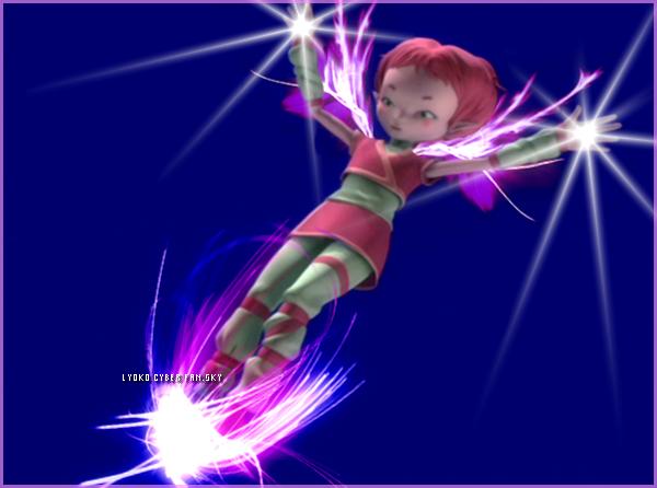 Un ange descend sur Lyoko