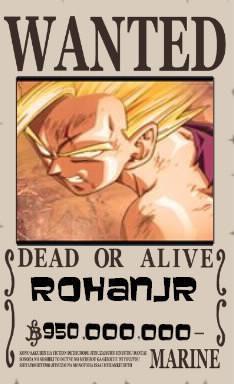 Cadeau Pour RohanJr  ===>  Wanted