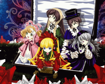 [ Anime ] Rozen Maiden.
