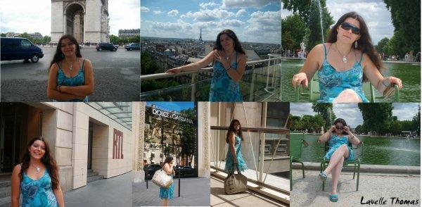 Mon été à Paris!
