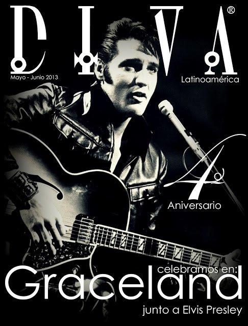 Periodista Andrea Gonzalez-Villablanca reconocida como ejemplo de Talento y Emprendimiento para toda Latinoamérica y celebra edición aniversario de DIVA con portada de Elvis Presley.