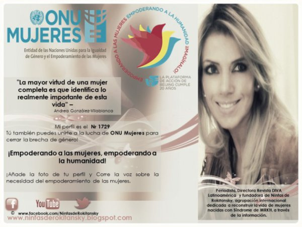Periodista Andrea González-Villablanca, mencionada en Fundación Europea por entrevista sobre Mutilación Genital Femenina para DIVA Latinoamerica.