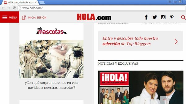 Periodista Andrea González-Villablanca destacada en Revista ¡HOLA! España