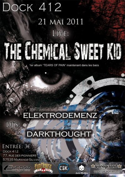[Dock 412] The Chemical Sweet Kid + Soirée electro goth