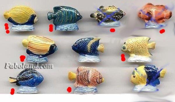 les poissons tropicaux 2001
