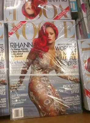 RIHANNA EN COUVERTURE DE « VOGUE »