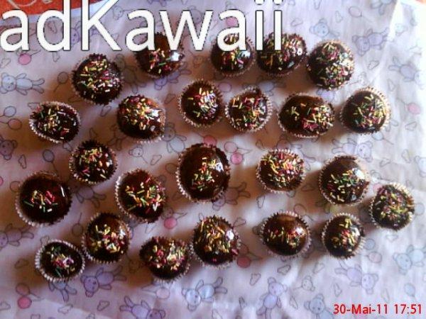 Cupcakes napper au chocolat