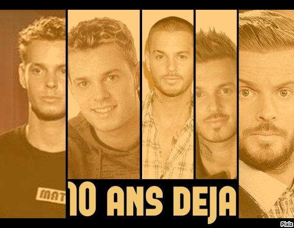 10 ANS ♥..