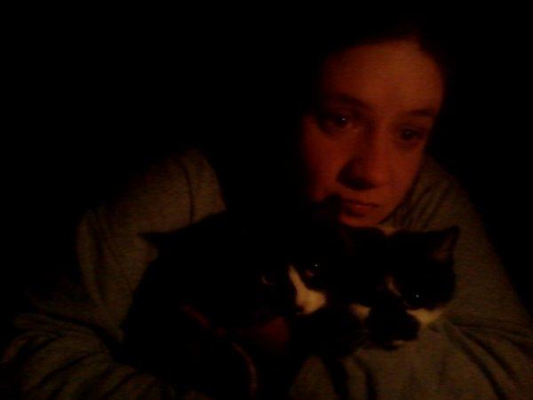 moua et mie amoure de chat