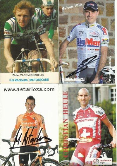 autographes de cyclistes en doubles pour echanger  page  2