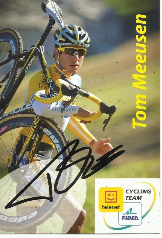 tom meeusen   dans le top 10 du cyclo- cross