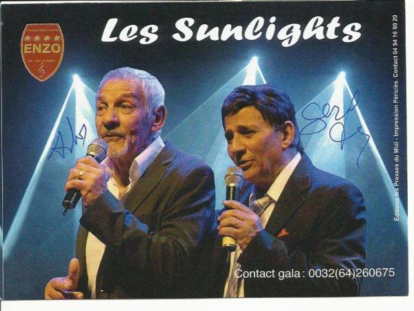 les sunligghts 2/3 bruno nous a quitté en 2007 celebre groupe des annees 80