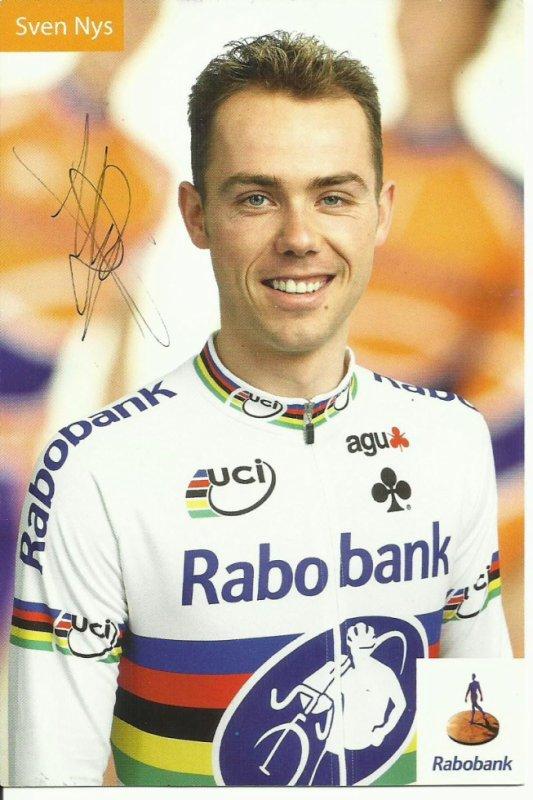 sven nys plusieurs fois champion du monde de cyclo-cross