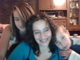 ma marraine et ses enfants