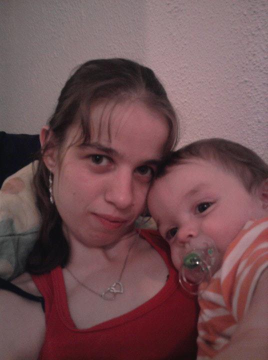 ma cous et son enfant