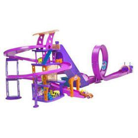 circuit shopping micro voiture polly pocket. Black Bedroom Furniture Sets. Home Design Ideas