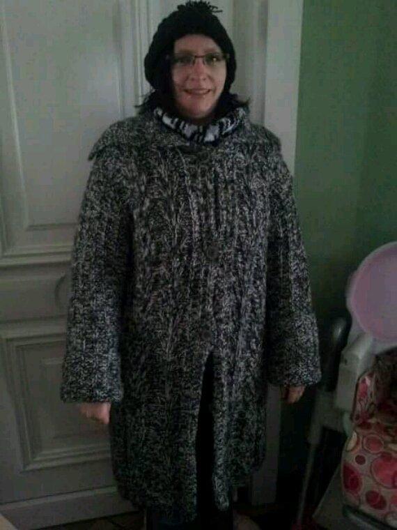 Veste longue femme