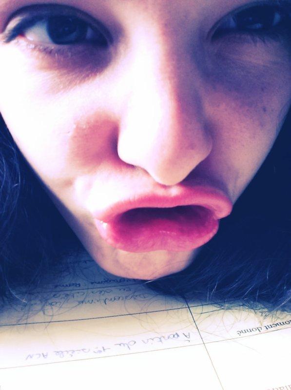 Crazy Girl !