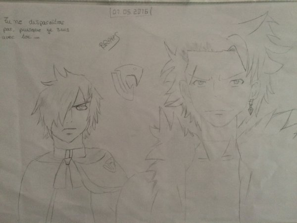 Drawings de sting & rogue