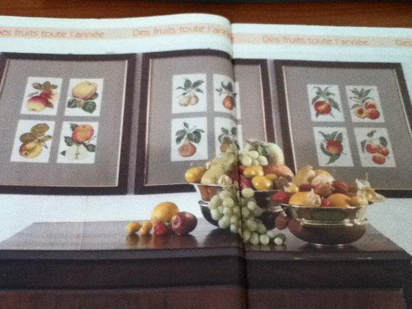 grille  N° 37 des fruit N°1