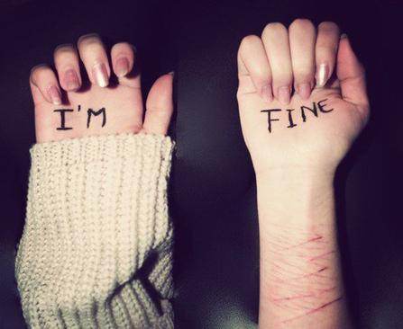 """""""Je tiens à la douleur parce-que c'est la seule chose qu'on m'a laissé."""""""