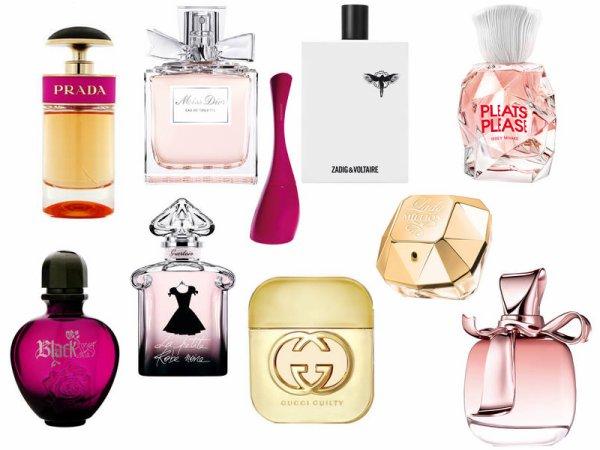top 10 des parfums la mode notre fa on. Black Bedroom Furniture Sets. Home Design Ideas