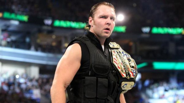 Dean Ambrose United States Champion