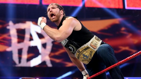 Dean Ambrose Intercontinental champion