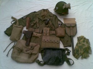 3 eme TENUE : SERGENT 3/TH 101 ST EN HOLLANDE OPERATION MARKET GARDEN  (presque terminé)
