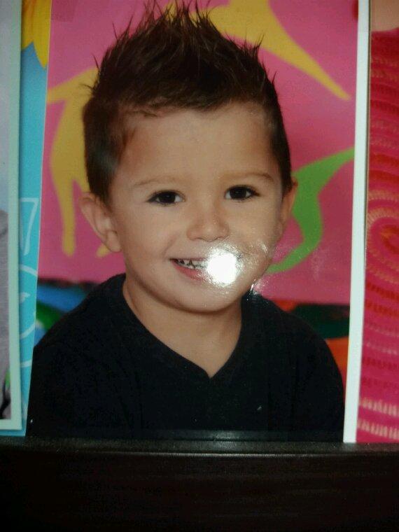 mon petit fils à 4 ans