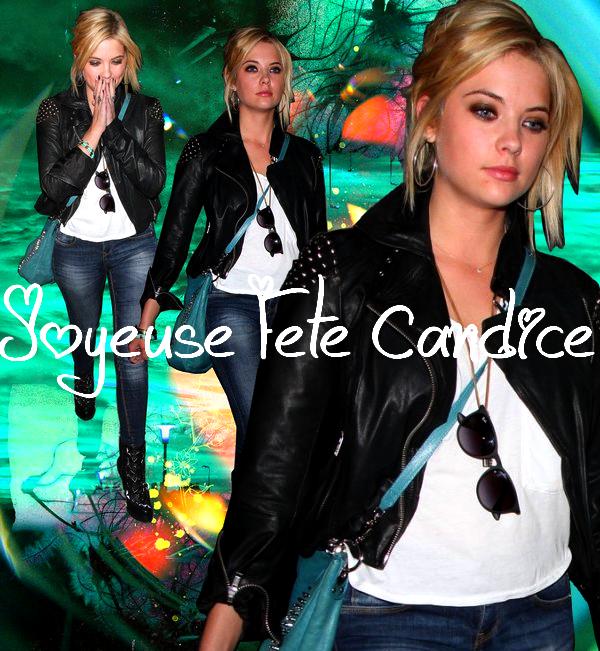 Joyeux Anniversaire à Lucy Hale ♥♥♥   +   Joyeuse Fête à Ma chériiie CANDICE  ♥♥♥