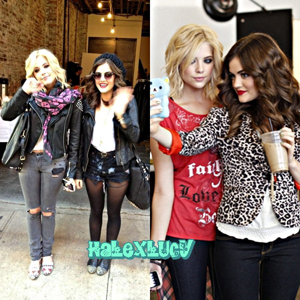 Quelques affiches publicitaires de BONGO pour cet automne avec Ashley Benson et Lucy Hale // TOP OU FLOP ? // Quelques photo de cette belle journée avec Ashley Benson et Lucy Hale // TOP OU FLOP ?