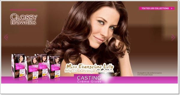 evangeline lilly coloration loral - L Oral Coloration