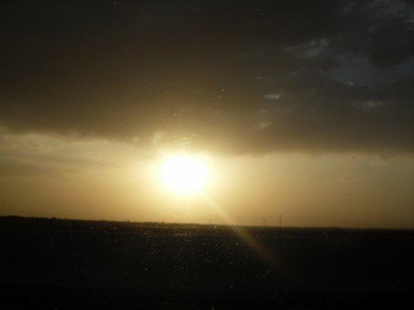 couché de soleil au Maroc